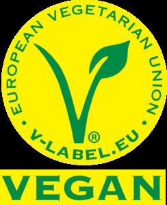 V-LABEL Certifikát VEGAN Nekáva