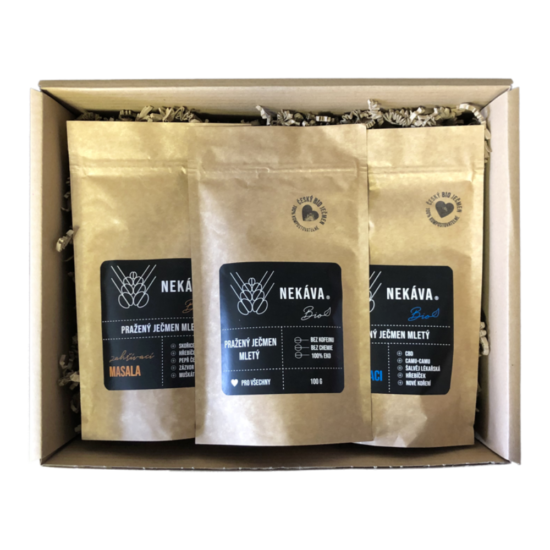 balíček nekávy 100g 3x